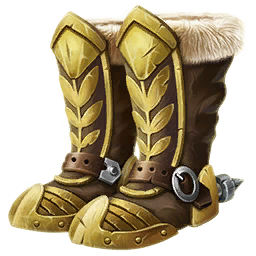 Gilded Boots