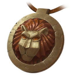 Lion Locket