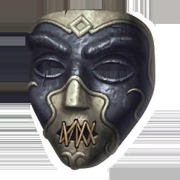 Nielloed Mask